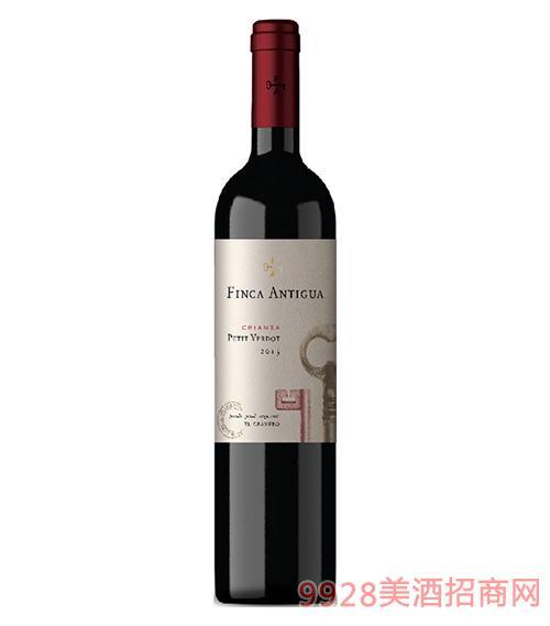 凡卡密钥小维铎佳酿干红葡萄酒2015