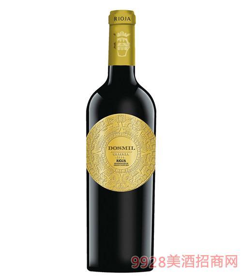 多斯米尔金标佳酿干红葡萄酒2014