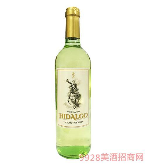 贵 族骑士干白葡萄酒2016