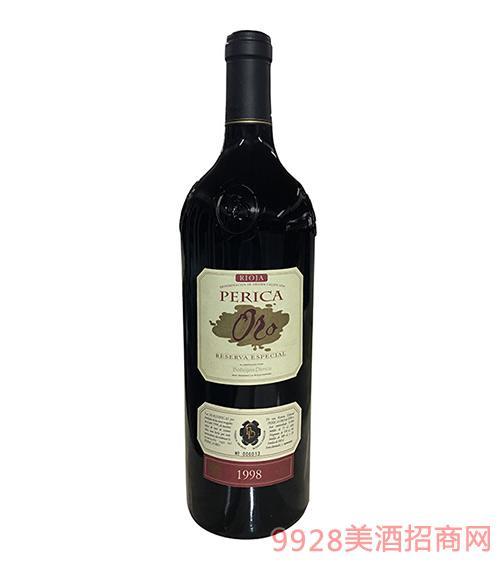 贝丽佳金典珍藏系列葡萄酒1998