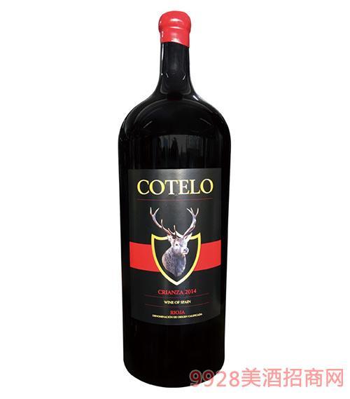 樽品御鹿佳酿干红葡萄酒3L、5L、9L、12L、15L