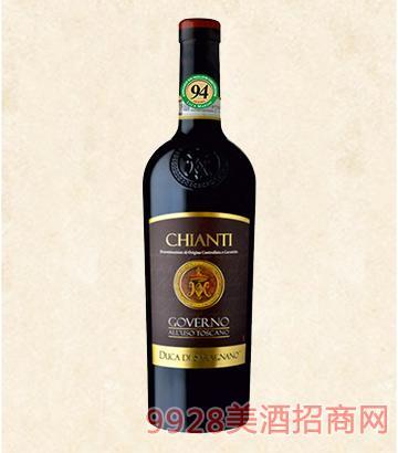 高维诺基安蒂红葡萄酒