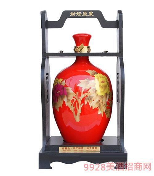 十斤花开富贵酒