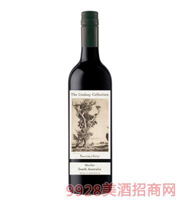 琳赛精选邦德瑞德梅洛干红葡萄酒