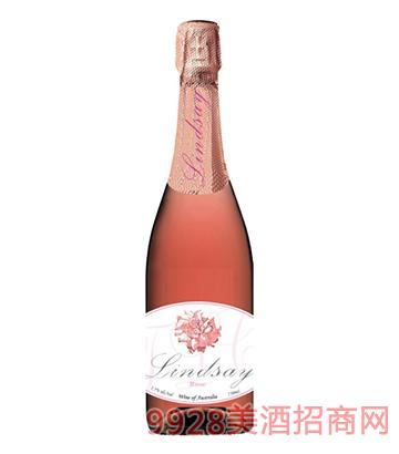 琳�典藏系列桃�t起泡葡萄酒