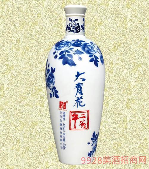 >牛二爷酒大青花500ml  所属企业:北京京鹰酒业有限公司 价格实惠