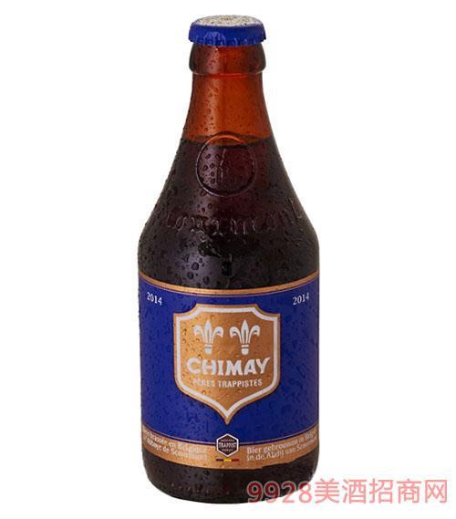 智美蓝帽啤酒330ml