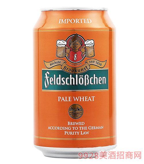 费尔德堡白啤酒330ml