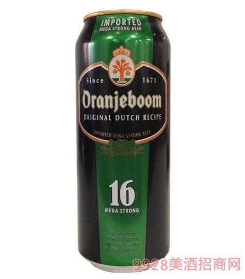 橙色炸弹强劲啤酒16度