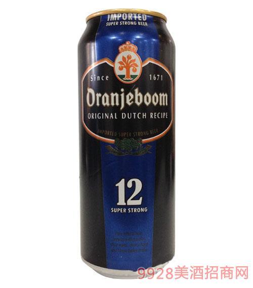 橙色炸弹超强烈性啤酒12度