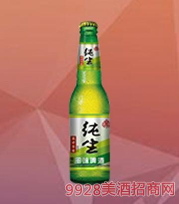 纯生啤酒瓶装
