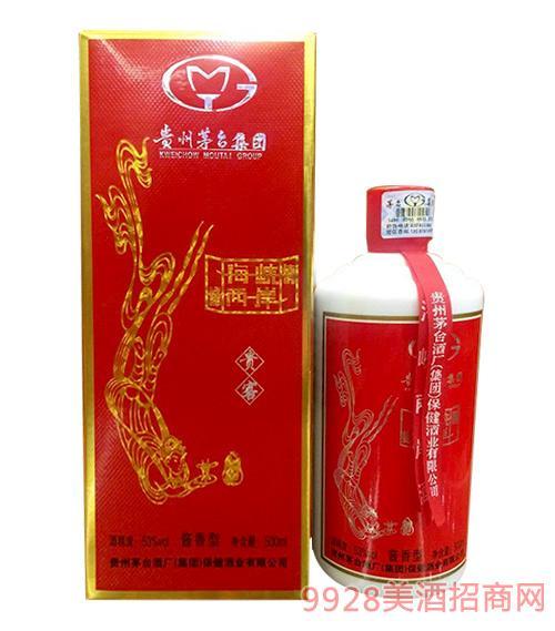 贵州茅台酒厂集团保健酒业海峡两岸酒贵宾53度500ml