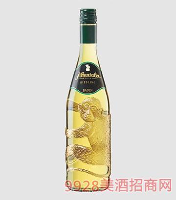 德国巴登猴子谷酒庄雷司令白葡萄酒11.5度750ml