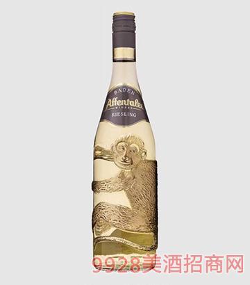 德国巴登猴子谷酒庄雷司令白葡萄酒2016-11.5度750ml