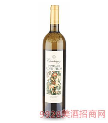 百达霞多丽干白葡萄酒