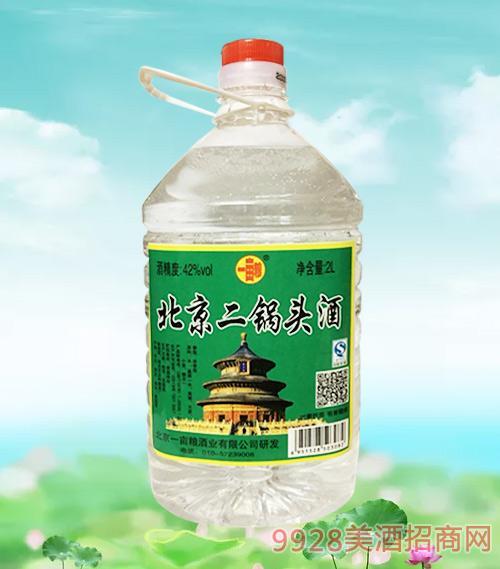 一亩粮北京二锅头酒42度2L