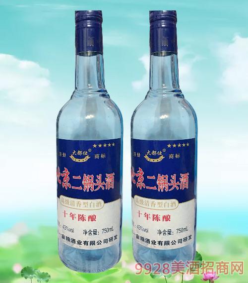 大都仕北京二锅头酒十年陈酿