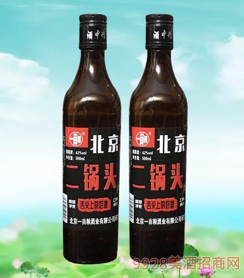 一亩粮北京二锅头(黑瓶)42度500ml