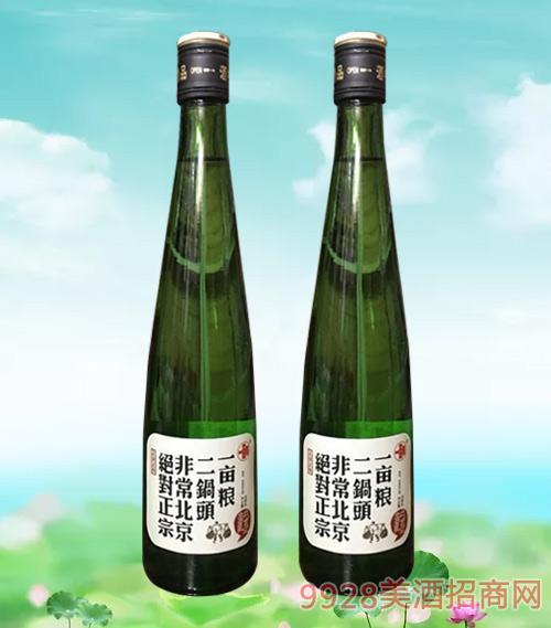 一亩粮二锅头绿瓶42度480ml