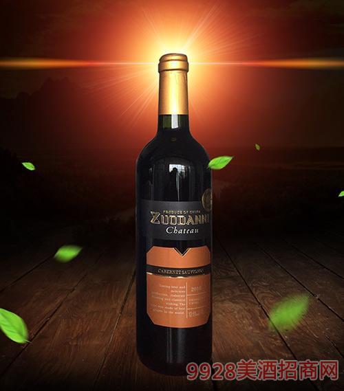 佐丹妮干红葡萄酒2010-12.5度750ml