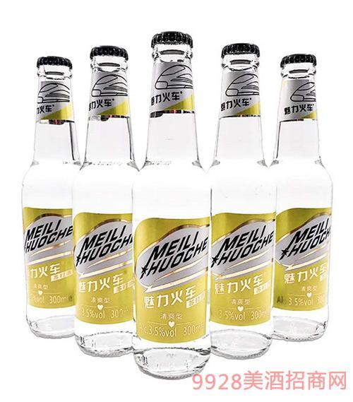 魅力火车苏打酒3.5度300ml升级版