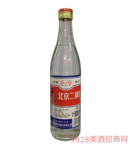 牛二爷北京二锅头白标酒56度500ml