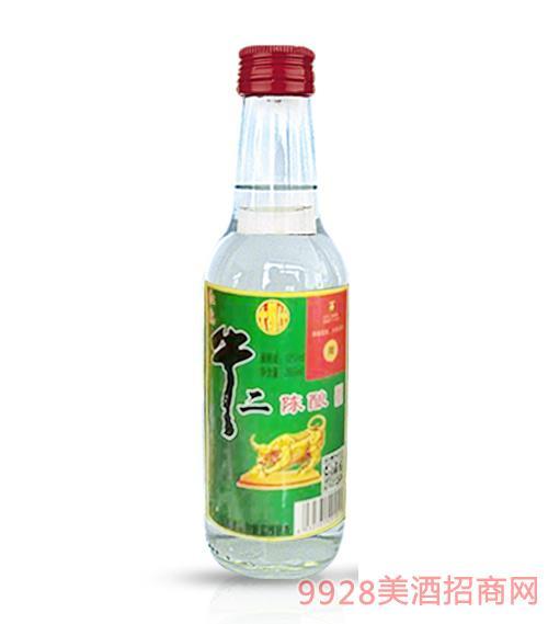 牛二陈酿酒(红盖)小瓶酒