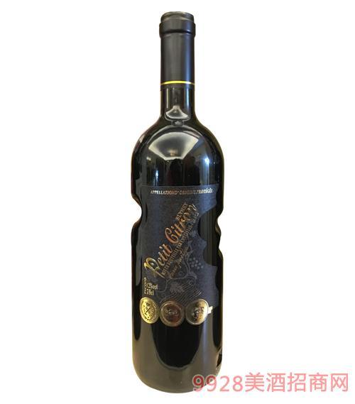 小玛歌诗图酒庄红楼干红葡萄酒AOP-12度750ml1