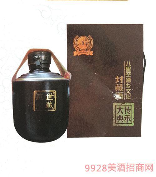 八里罕封藏五斤坛酒60度2.5L