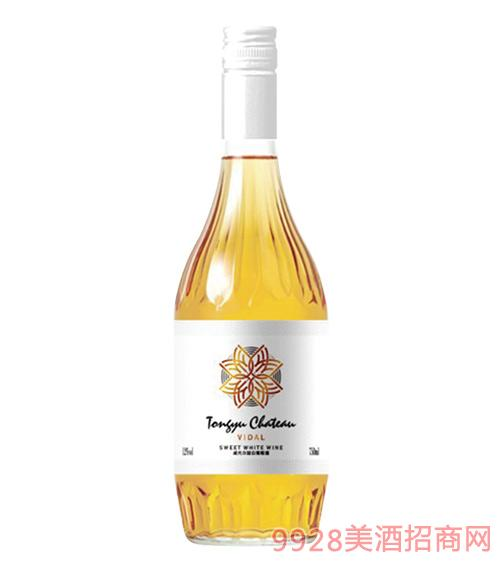 通裕威代尔甜白葡萄酒12度750mlx6