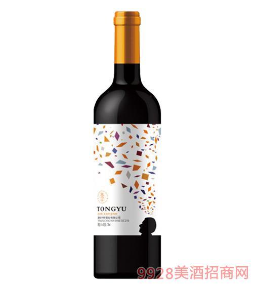 通??裣肭北t葡萄酒12度750mlx6