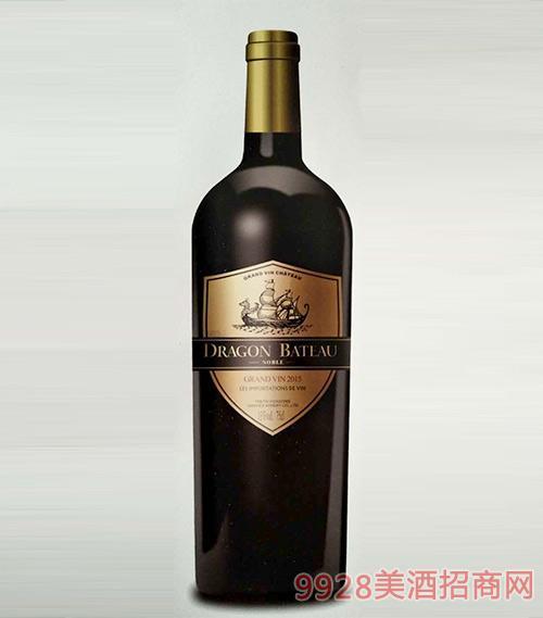 龙船督手贵族干红葡萄酒13度750mlx6