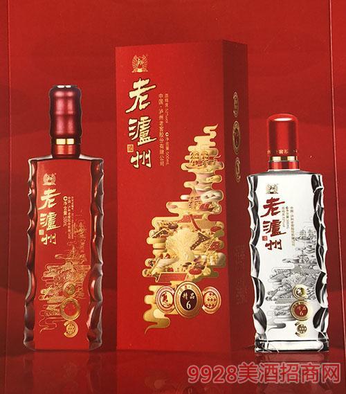 老泸州精品6酒52度500ml