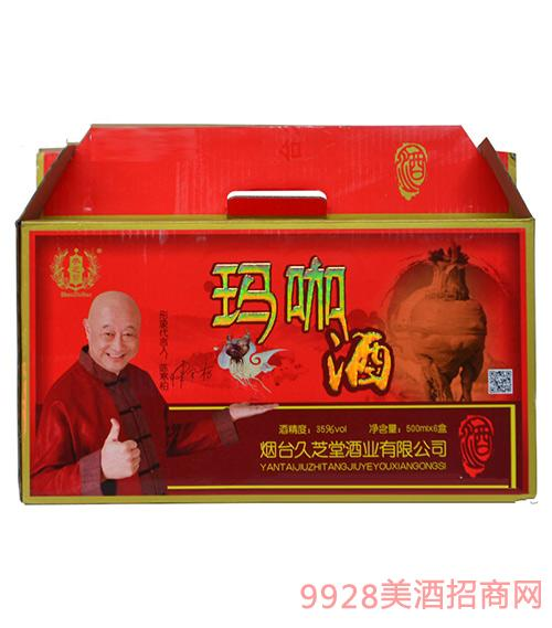 久芝堂玛咖酒35度500ml