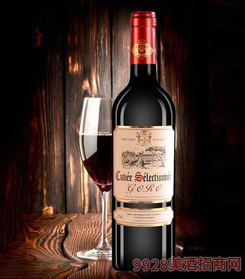 高罗精选尚品干红葡萄酒