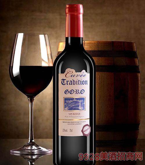 高罗佳酿干红葡萄酒