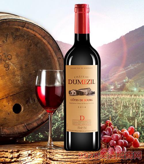 杜梅喆庄园干红葡萄酒