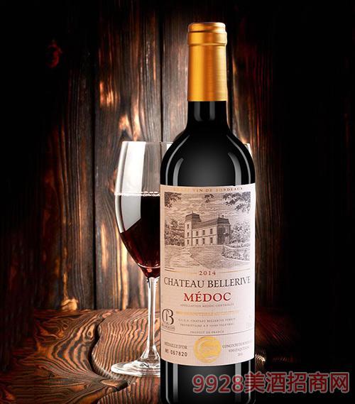 贝勒里夫城堡干红葡萄酒