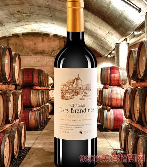 莱瑟布朗丹城堡干红葡萄酒