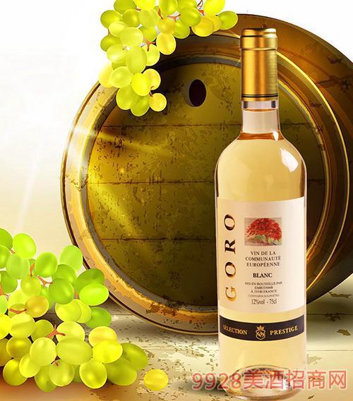 高罗精品干白葡萄酒