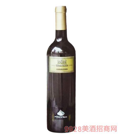 西班牙蒙特梅勒山定制红葡萄酒