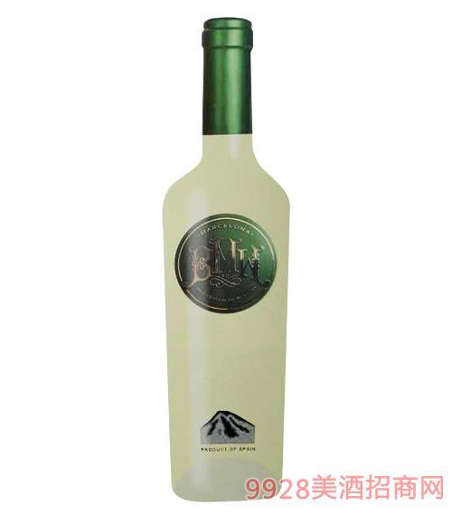 西班牙巴塞罗那定制(绿标)白葡萄酒