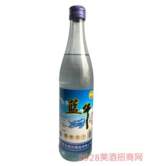 鑫牛王蓝牛王陈酿酒42度500ml