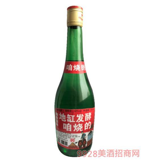 地缸发酵咱烧的酒42度500ml