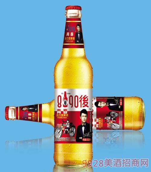8090后啤酒红标500mlx12