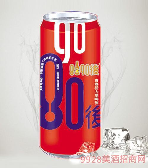 8090后啤酒红罐500mlx12