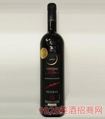 法国原瓶进口法蓝雅菲林城堡珍藏干红葡萄酒