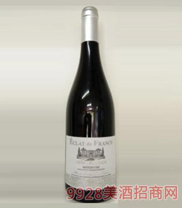 法国原瓶进口法蓝雅密涅瓦特酿干红葡萄酒