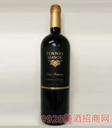 智利原瓶进口圣莱诗庄园特级珍藏赤霞珠干红葡萄酒