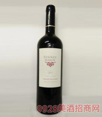 智利原瓶进口圣莱诗庄园经典赤霞珠干红葡萄酒